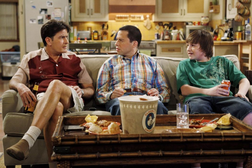 Two-And-A-Half-Men comedy sitcom television series two half men (69) wallpaper