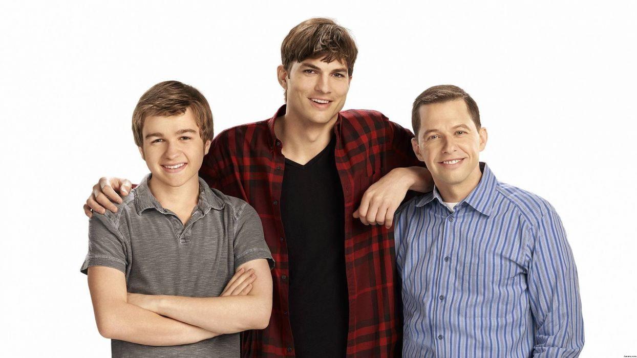 Two-And-A-Half-Men comedy sitcom television series two half men (90) wallpaper