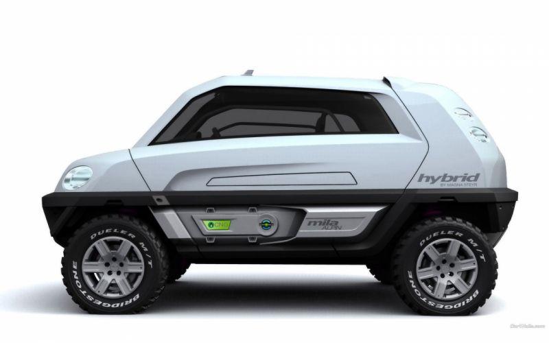 cars concept art Magna Steyr Mila Coupic wallpaper