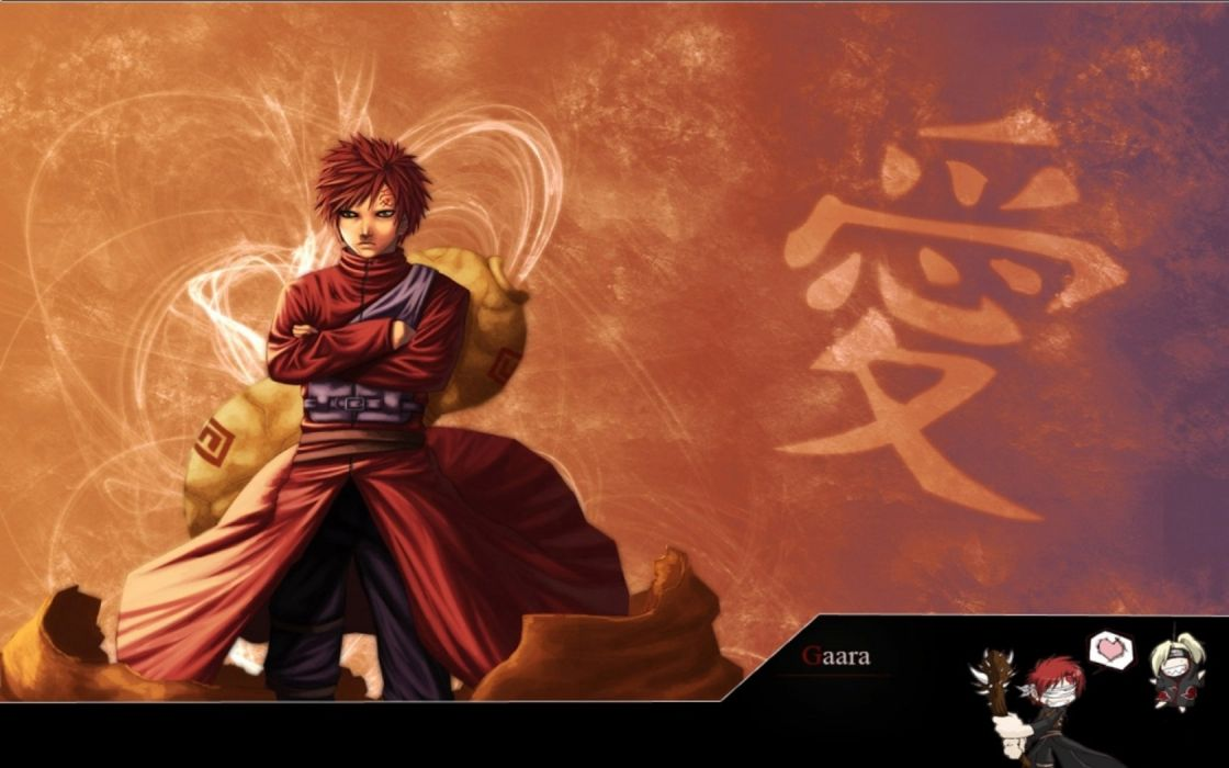 Naruto Shippuden Gaara Kazekage Wallpaper 1680x1050