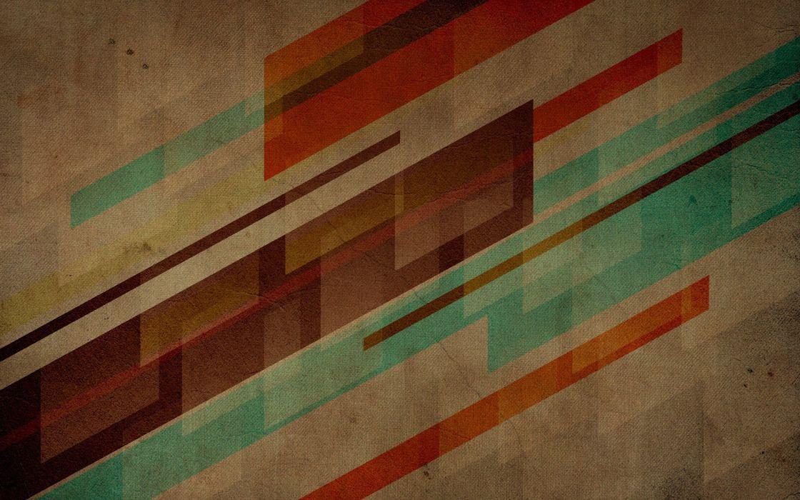 abstract multicolor retro wallpaper