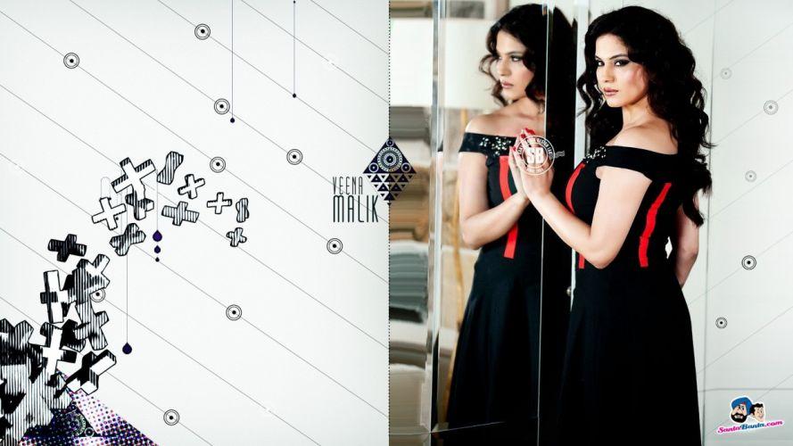actress models pornstars Veena Malik wallpaper
