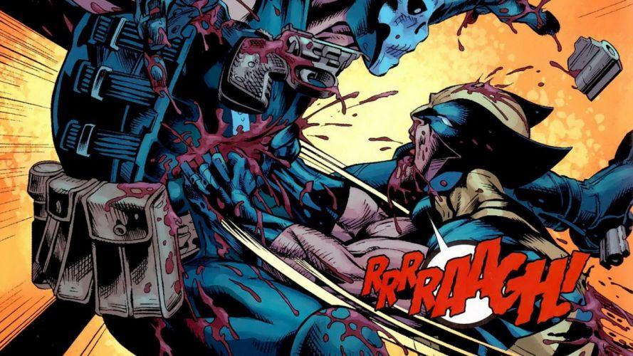 comics X-Men Wolverine Marvel Comics Fear Itself Crossbones wallpaper