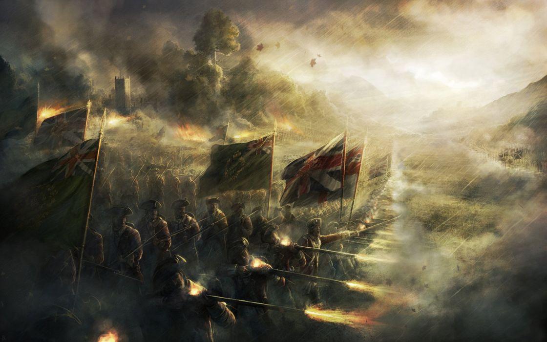 civil war british army radojavor wallpaper 1680x1050 333211