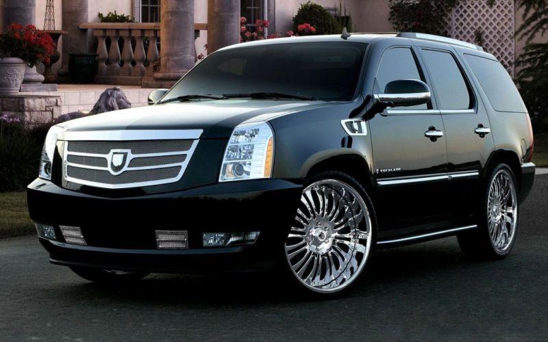 cars Cadillac XLR-V SUV cadillac Escalade wallpaper