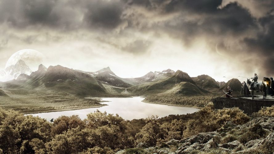 clouds landscapes fantasy art digital art artwork wallpaper