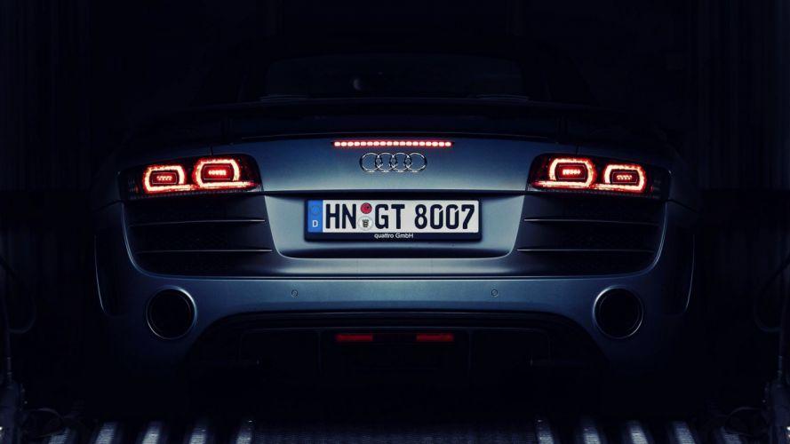 close-up dark cars Audi Audi R8 wallpaper