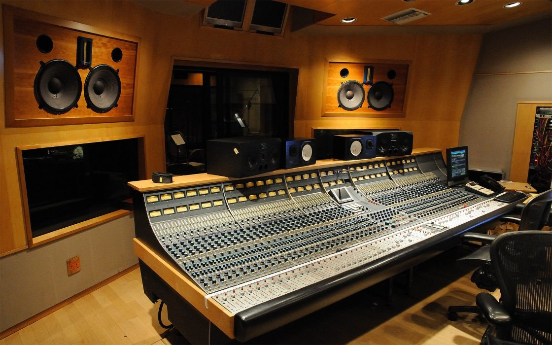 studio recording wallpaper