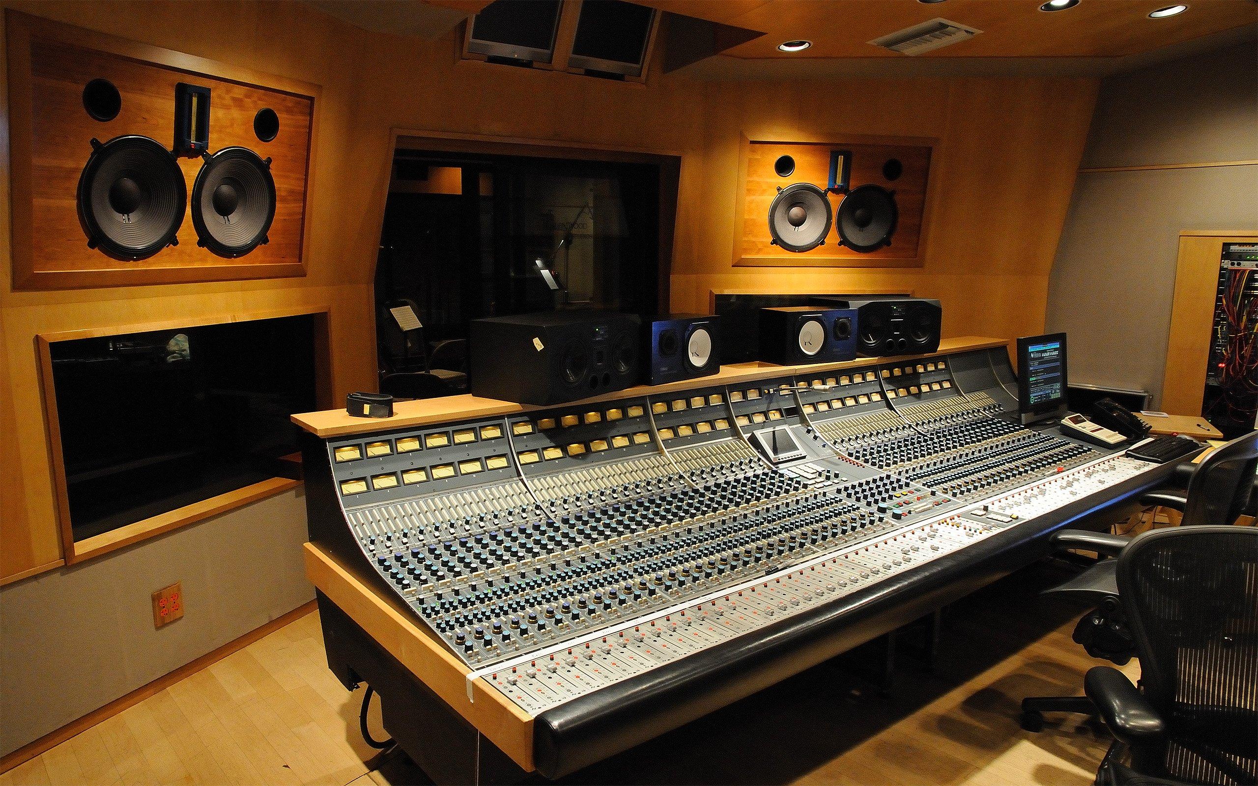 Studio recording wallpaper 2560x1600 333381 wallpaperup - Music recording studio wallpaper ...