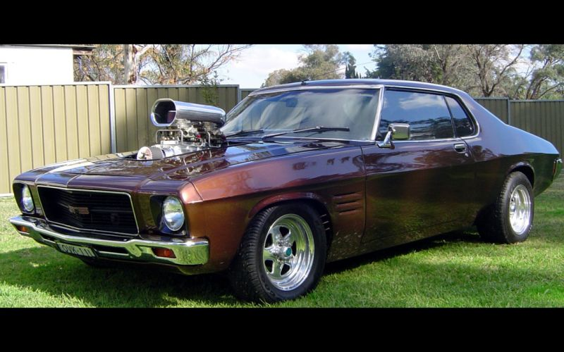 cars Australia supercharged V8 engine Holden HQ GTS Monaro Aussie Muscle Car wallpaper