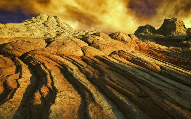 landscapes Arizona south coyote rock formations wallpaper