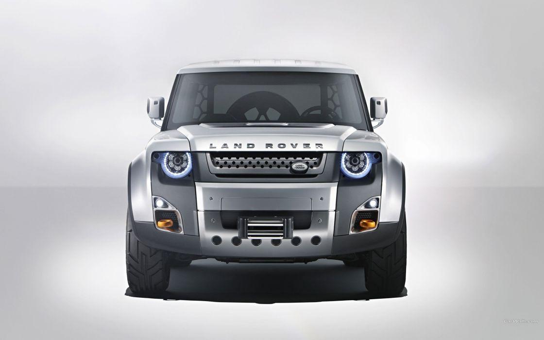 Cars Land Rover Concept Art Range Wallpaper