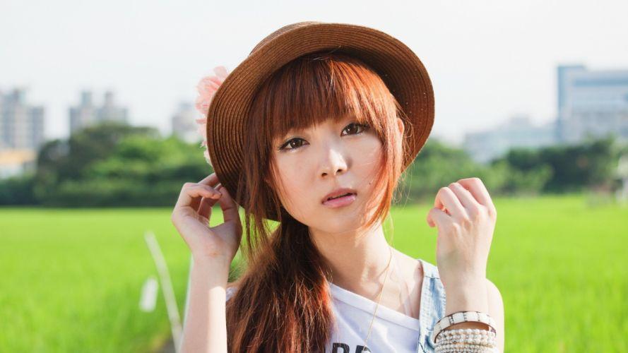 women Japanese Asians models asian girls wallpaper