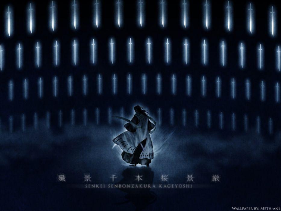Bleach Kuchiki Byakuya Senbonzakura wallpaper