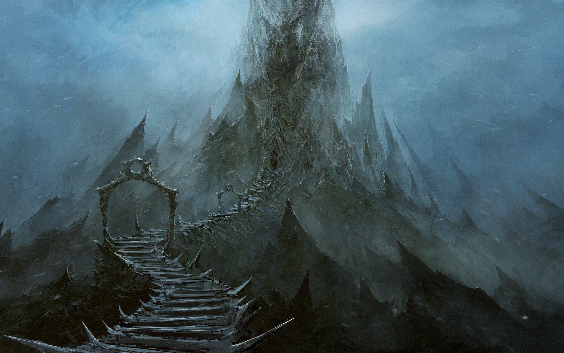 Fantasy Art Landscapes Mountains Mountains Landscapes Fantasy