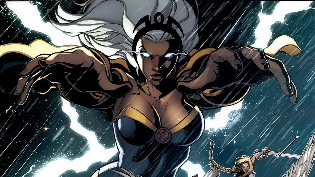 comics X-Men Marvel Comics comics girls Fear Itself Storm (comics character) wallpaper