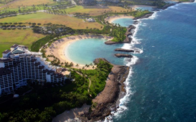 landscapes Hawaii beaches wallpaper