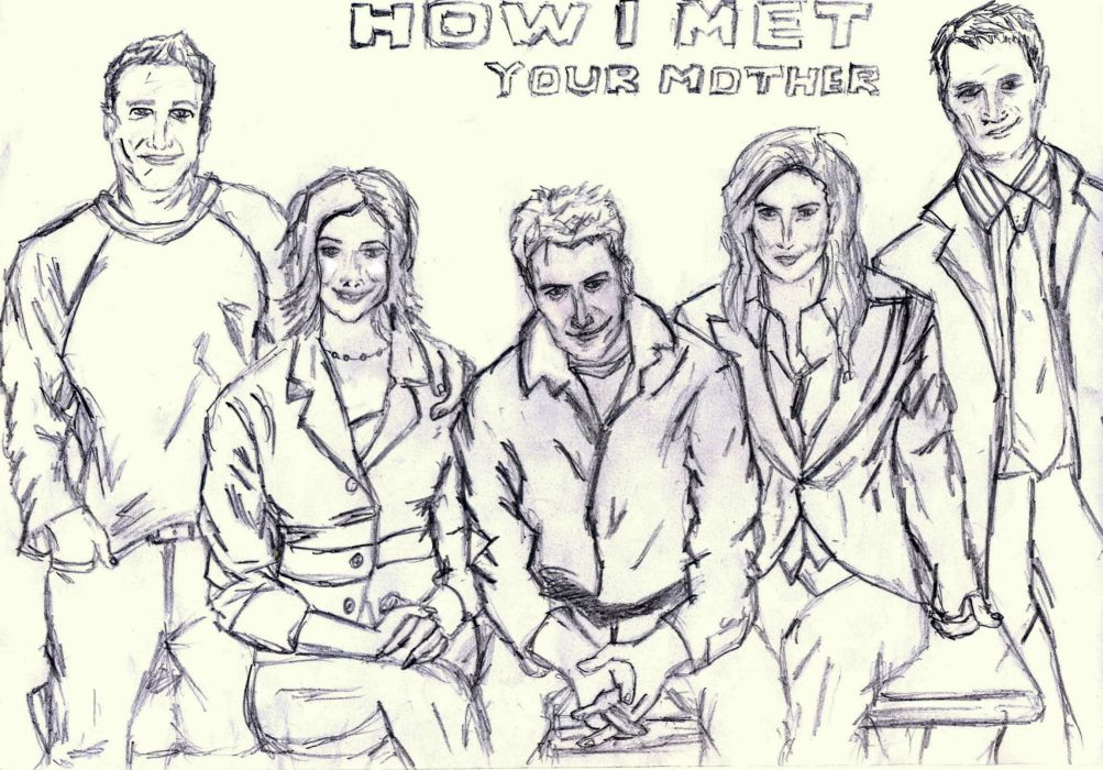 How-I-Met-Your-Mother comedy sitcom series television how met mother (34) wallpaper