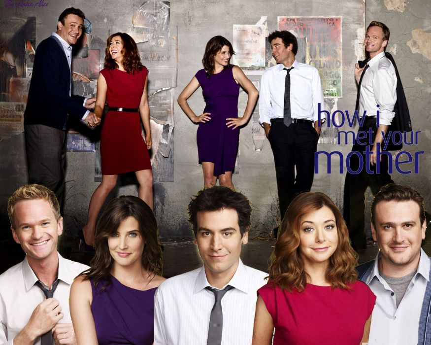How-I-Met-Your-Mother comedy sitcom series television how met mother (43) wallpaper