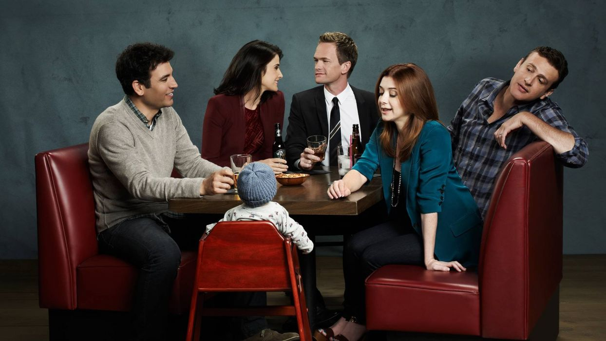 How-I-Met-Your-Mother comedy sitcom series television how met mother (2) wallpaper