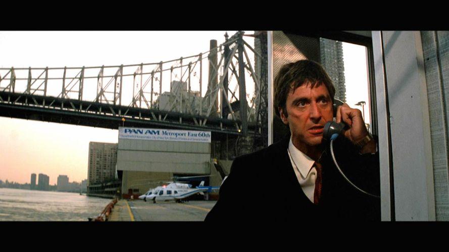 SCARFACE crime drama movie film wallpaper