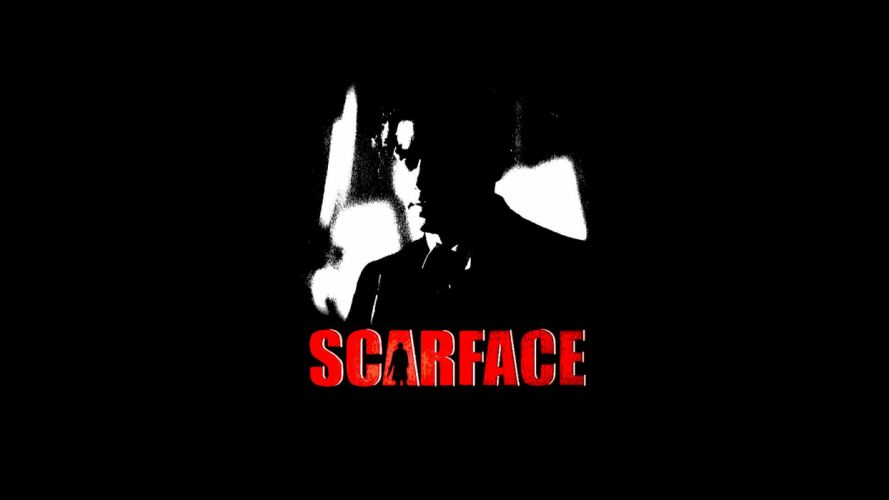 SCARFACE crime drama movie film poster wallpaper