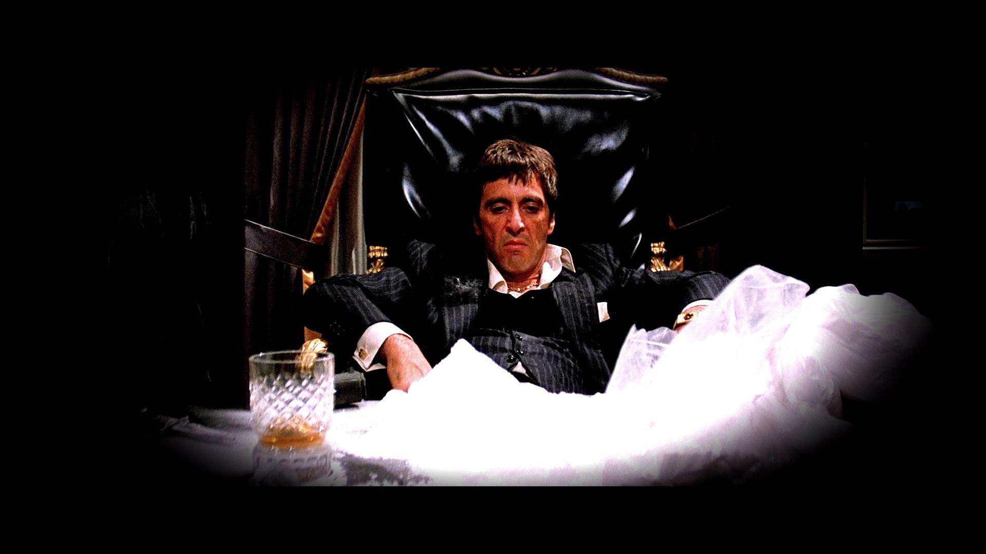 SCARFACE crime drama movie film dark drugs wallpaper | 1920x1080 ... Al Pacino