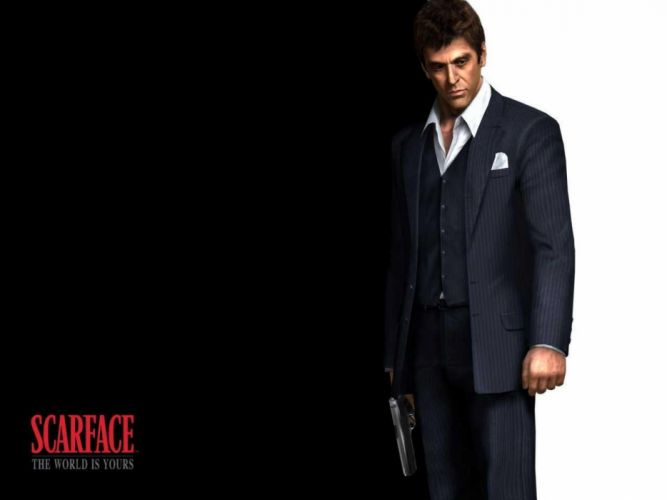 SCARFACE crime drama movie film wallpaper