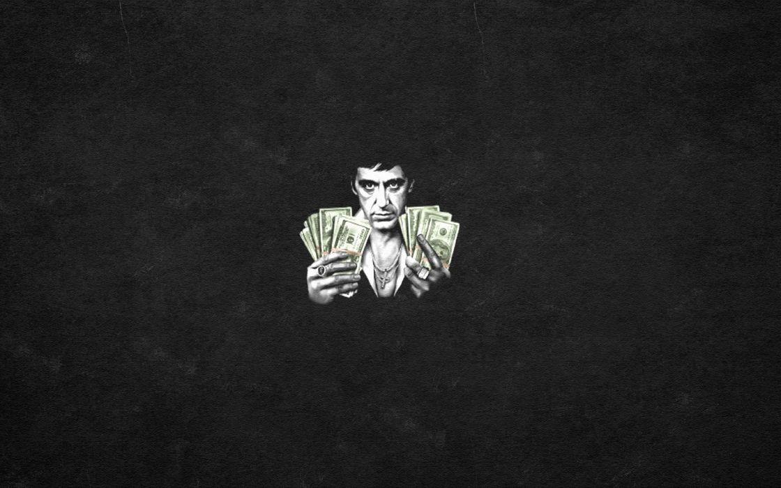 SCARFACE Crime Drama Movie Film Poster Money Drugs Wallpaper