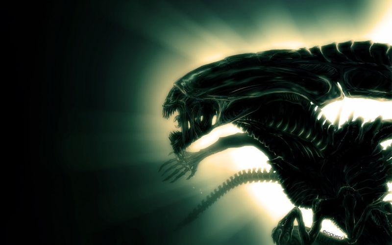 Mother Alien wallpaper