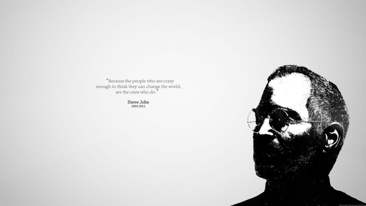 Apple Inc_ quotes Steve Jobs wallpaper