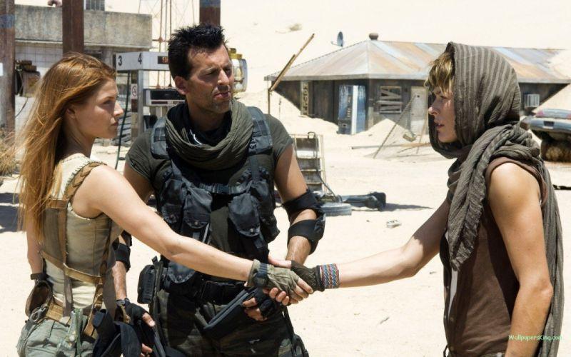 movies actress Resident Evil Claire Redfield Ali Larter sunlight Milla Jovovich Resident Evil: Extinction wallpaper