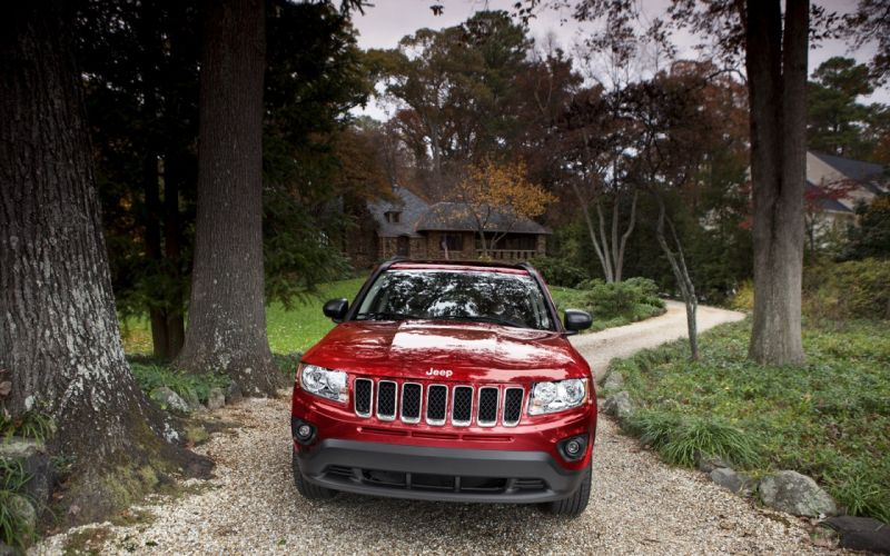 red cars Jeep villas Jeep Grand Cherokee front view wallpaper