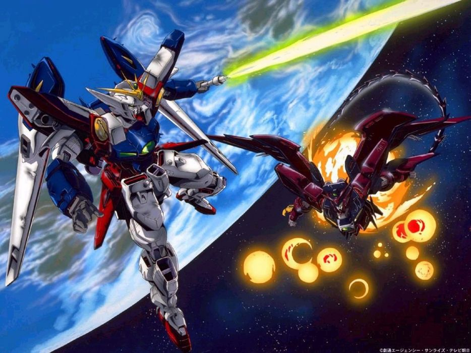 Gundam Gundam Wing Gundam Seed OZ-13MS Epyon wallpaper