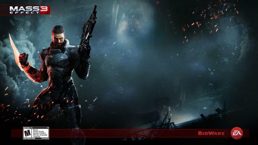 Mass Effect Mass Effect 3 action games wallpaper