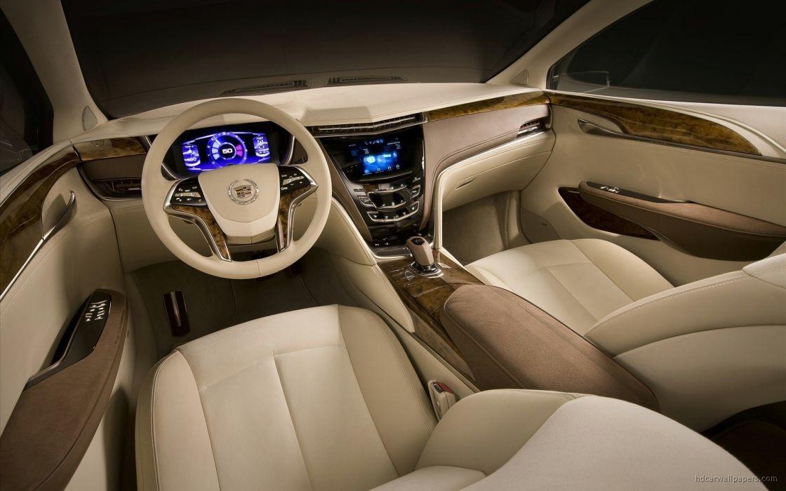 cars interior concept art vehicles Cadillac Platinum Cadillac XTS wallpaper