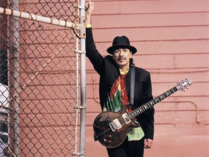 SANTANA latin rock blues chicano hard jazz pop guitar wallpaper