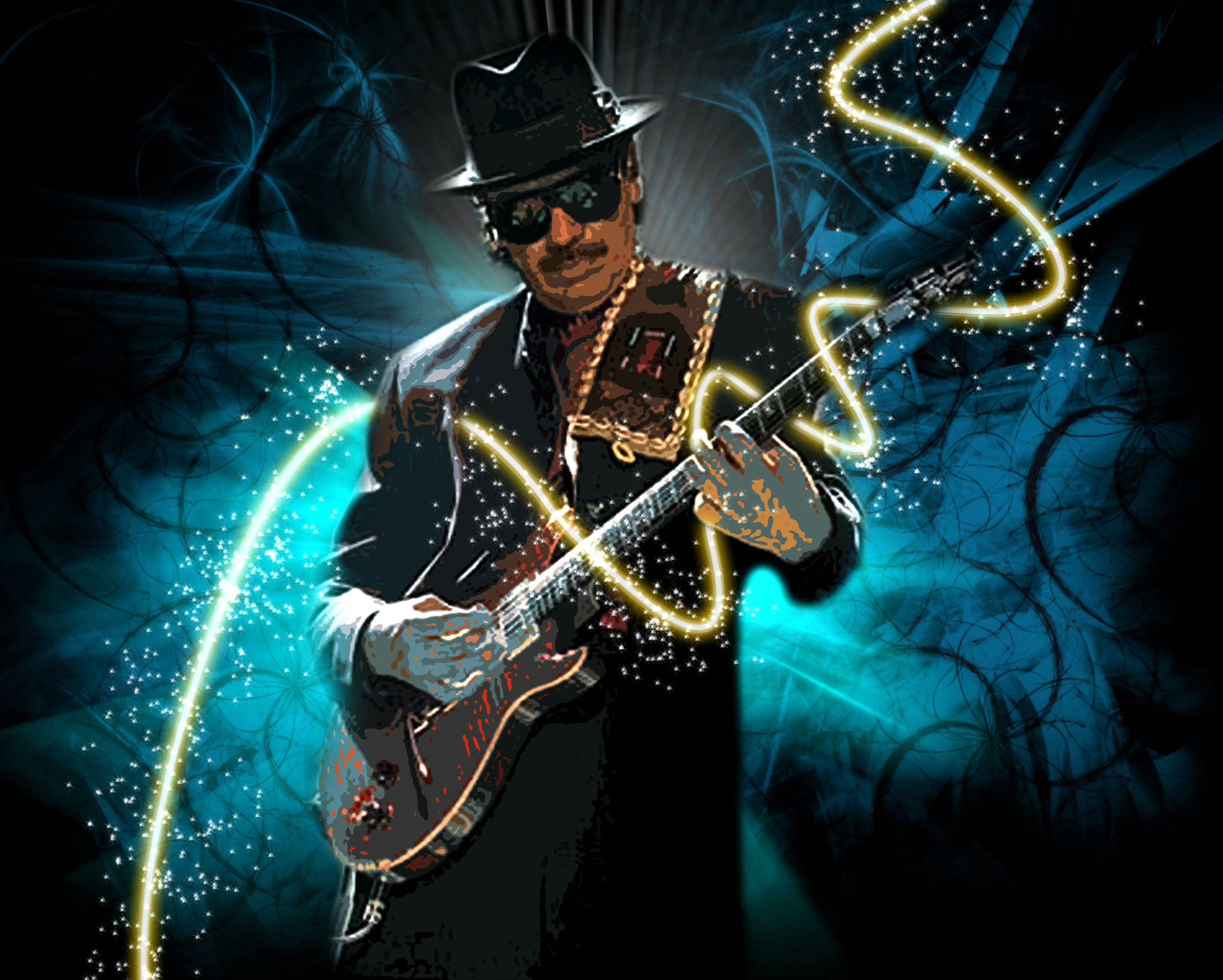 Jazz Blues Wallpaper Santana Latin Rock Blues