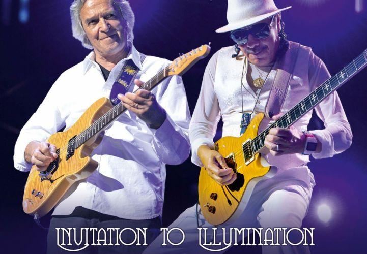 SANTANA latin rock blues chicano hard jazz pop concert guitar poster wallpaper