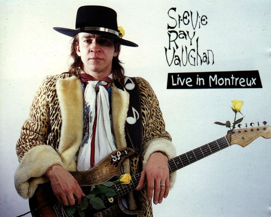 STEVIE RAY VAUGHAN blues rock hard classic guitar poster wallpaper