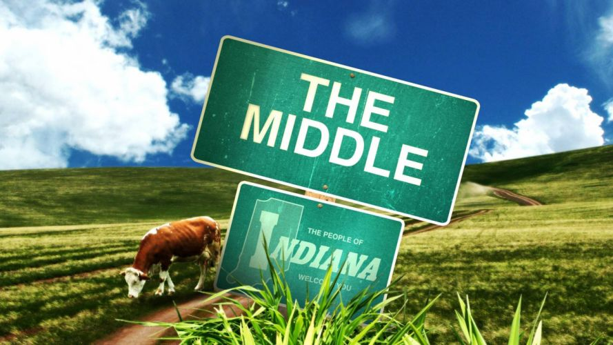 THE-MIDDLE comedy series television sitcom middle poster wallpaper