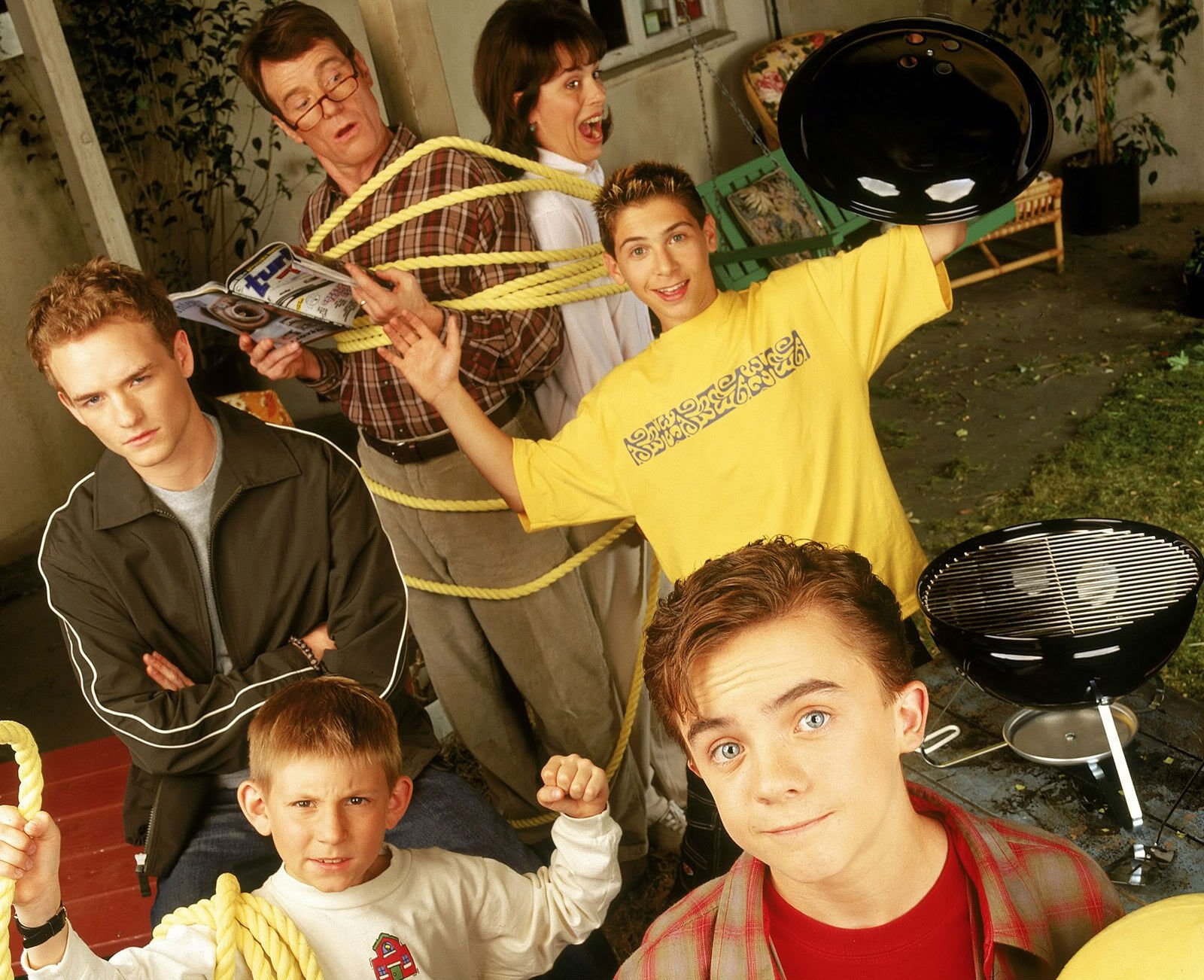 Malcolm In The Middle Comedy Sitcom Series Television Malcolm