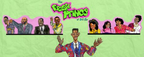 Fresh Prince Of Bel Air Comedy Sitcom Series Television Will Smith