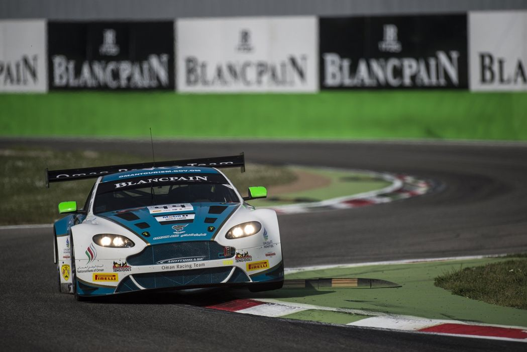 Oman Racing Team Aston Martin Vantage GT3 wallpaper