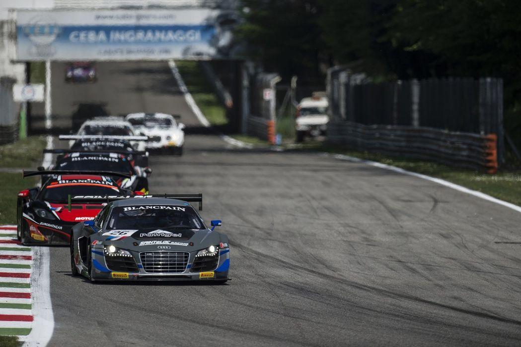 Sainteloc Racing Audi R8 LMS ultra wallpaper
