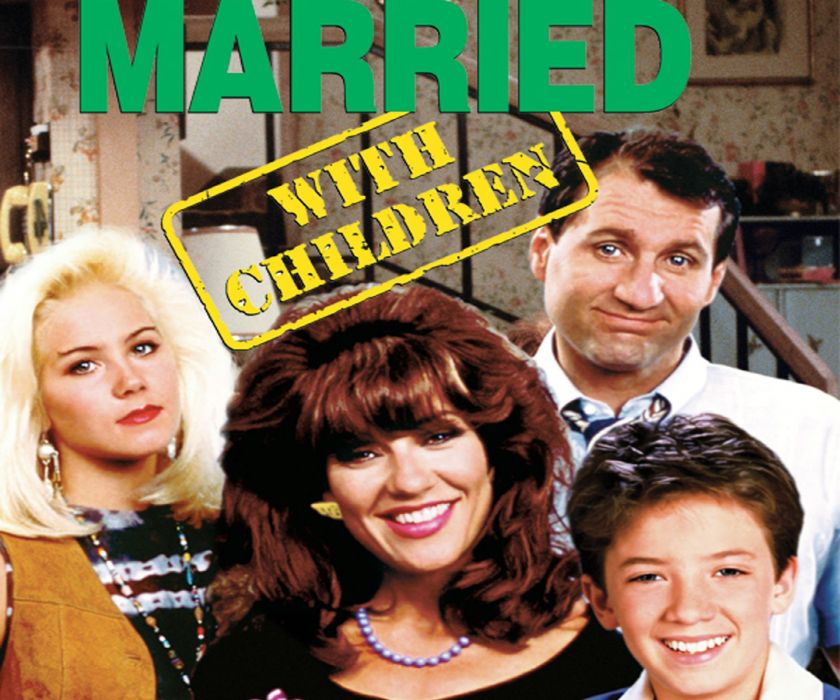 MARRIED-WITH-CHILDREN comedy sitcom series television married children poster wallpaper
