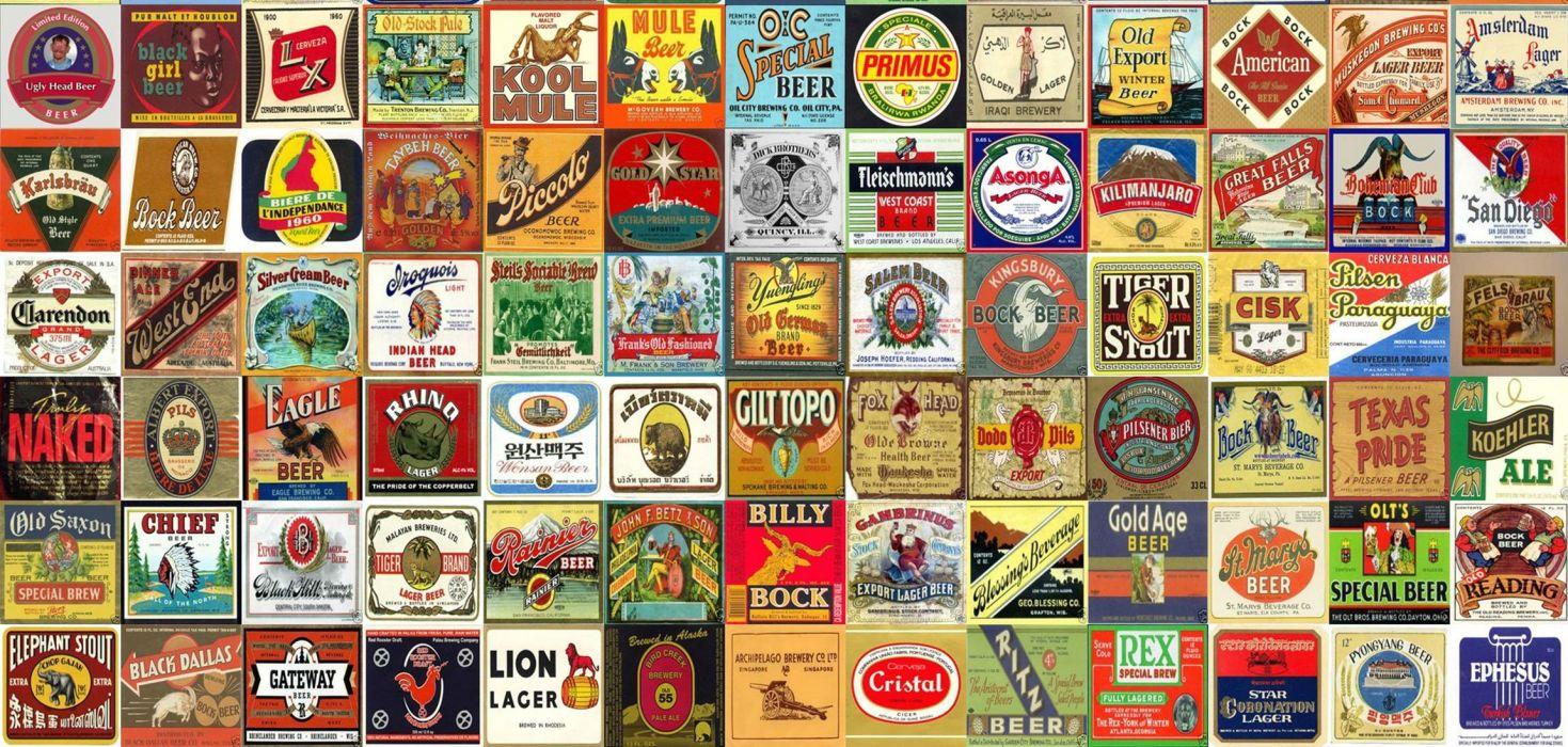 beer alcohol drink poster collage tile tiles wallpaper
