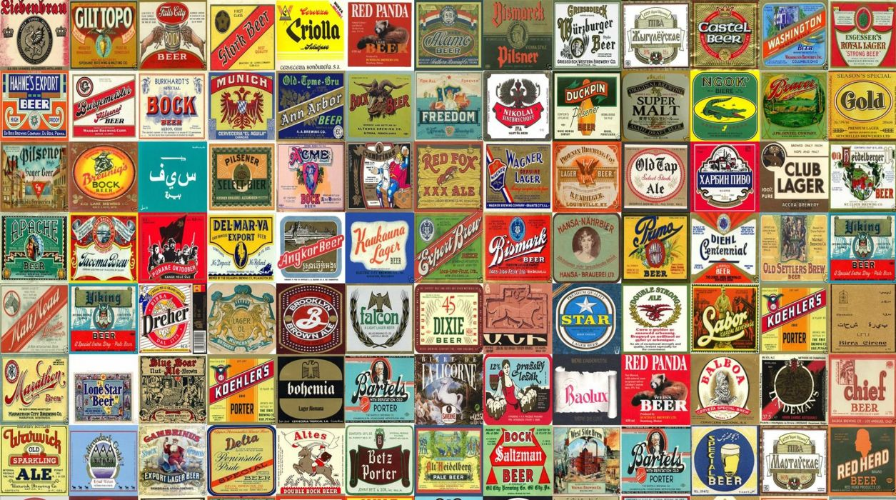 beer alcohol drink poster collage tile tiles wallpaper
