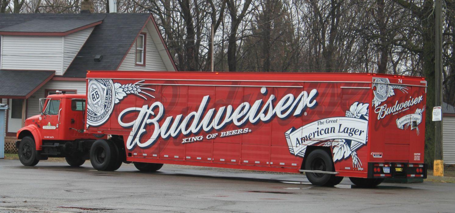 beer alcohol drink poster semi tractor wallpaper