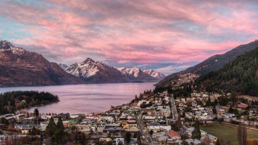 cityscapes architecture New Zealand city skyline cities wallpaper
